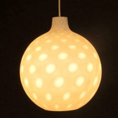 Pendant lamp, designed in the 1950's by Aloys Gangkofner for Peill und Putzler.