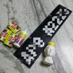 Hobby Crafts :): DIY Name plate