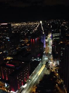 Vista desde La Torre Colpatria Bogotá, Colombia