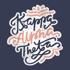 Kappa Alpha Theta Design // College Hill Custom Threads sorority and fraternity greek apparel and products!