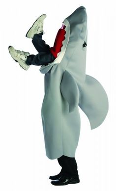 Man-Eating Shark Costume! yes!