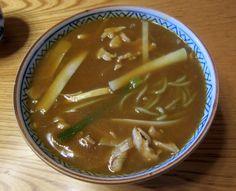 釧路『東家 竹老園』カレー南蛮、アツアツです。 Google+