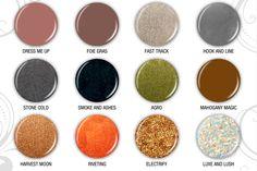 China Glaze Hunger Games polish line. Great color palate!
