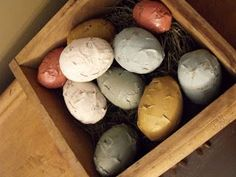 At Home With K: Newspaper Easter Eggs