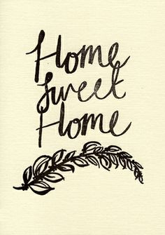 'Home Sweet Home' Card by Katie Leamon, the perfect gift for Explore more unique gifts in our curated marketplace.