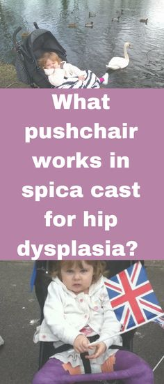 What pushchair works in spica cast for hip dysplasia by Emma at Emma and 3.