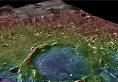 Researchers from Brown University have completed a new analysis of an ancient Martian lake system in Jezero Crater