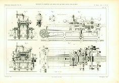 1863 Antique Woodworking Machine Patent Print Tickness Planer Thicknesser Lumber mill Logs Industrial Design Armengaud. Paris. #wallart #officedecor #homedecor #antique #antiques #framing #industrial #interiordesign #vintage #industrialdesign #engineering
