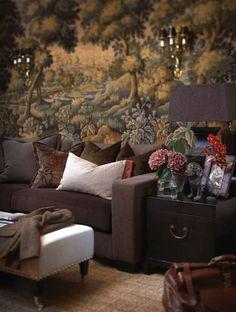 tapestry or wallpaper