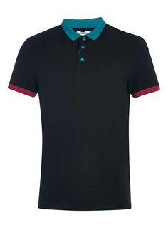Photo 5 of Contrast Collar Polo Shirt