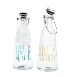 Glass Water Bottles (Threshold Line) glass packaging ideas Water Packaging, Cool Packaging, Bottle Packaging, Brand Packaging, Packaging Design, Bottles And Jars, Glass Bottles, Glass Water Bottle, Water Carafe