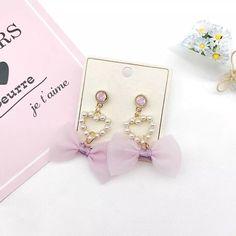 Heart Earrings, Stud Earrings, Pearls, Jewelry, Jewlery, Bijoux, Ear Gauge Plugs, Jewerly, Stud Earring