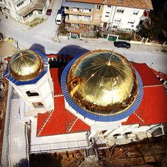 #drone #photography #air#sky#Bulgaria#church#beautiful #christianity #orthodoxy #bluesky #cultural#tourism #eastern#europe#proud#travelling#amazing#view#asenovgrad#home St. Michael #Cathedral