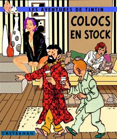 Tintin Colocs en stock