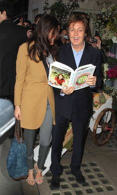 Paul McCartney Photos: The McCartney Family Out for Mary's Book Launch 2