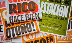 Masticar 2015 Identity by Yani and Guille