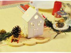 Noël : déco de table de bric et de broc
