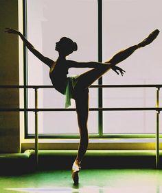 balanceandperfection:   Perfect arabesque