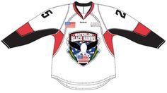 Waterloo Black Hawks USHL Hockey Team, Waterloo, IA.