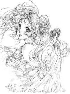 Sailor Moon FA by MaryTaylor.deviantart.com