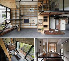 <a New View, Villa, Loft, Architecture, Bed, Furniture, Home Decor, Arquitetura, Decoration Home