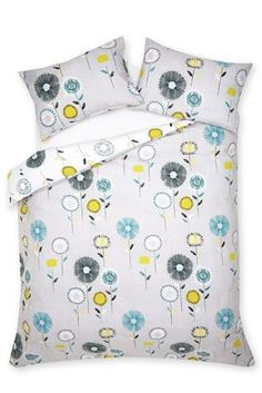 Buy 2 Pack Retro Floral Grey Bed Set from the Next UK online shop