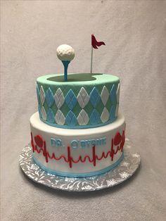 Doctor's retirement cake