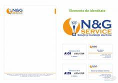 N&G Service: графический дизайн, фирменный стиль, корпоративный стиль, фирменный знак, логотип, брендбук, швейцарский, международный #graphicdesign #corporateidentity #corporateidentity #brandname #logo #brandbook #swiss #international arXip.com