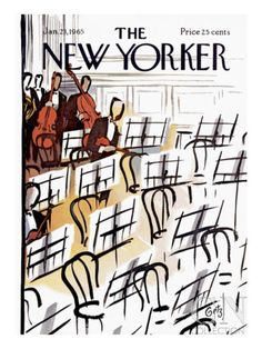 The New Yorker Cover - January 23, 1965 Poster Print by Arthur Getz at the Condé Nast Collection