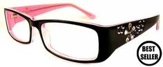 black and pink Prescription Glasses for Women   Delancy 26 Black Pink, Purchase Designer Glasses Online  Spectacles ...