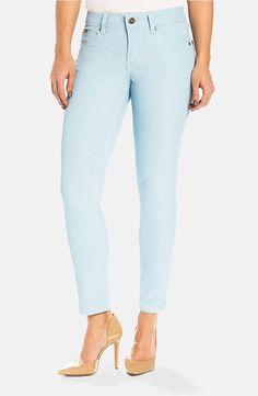 Beija-Flor Jeans Audrey Ankle Ice Blue