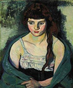 Victorine ou La tigresse By Suzanne Valadon ,1919