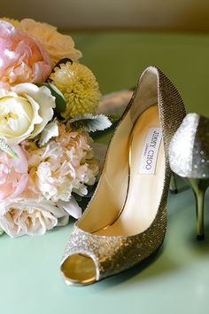 Sparkle on your wedding day in these gorgeous bridal heels