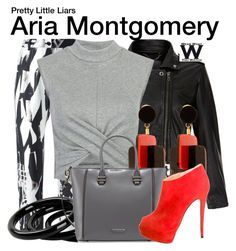 """Pretty Little Liars"" by wearwhatyouwatch ❤ liked on Polyvore featuring MuuBaa, Ann Demeulemeester, Marni, Furla, Charles Jourdan, Giuseppe Zanotti, television and wearwhatyouwatch"