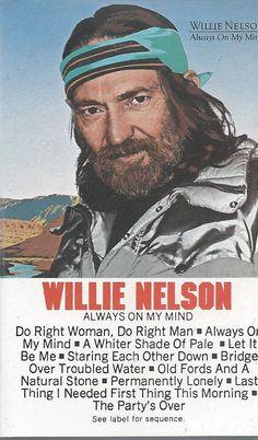 Always on My Mind by Willie Nelson (Cassette, 1982) #NashvilleSound
