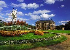 Barokowy, Pałac, Park, Rzeźba