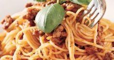 bolonez-mpolonez Spaghetti, Pasta, Ethnic Recipes, Food, Essen, Meals, Yemek, Noodle, Eten