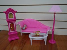 Gloria Luxury Playset - I bought this set on E-Bay. I'm planning to re-paint it.