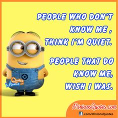 People who don't know