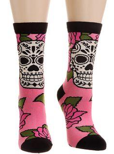 6c84100f1 New Arrivals - Sweet as Sugar Skull Socks by Karma Gifts Socks