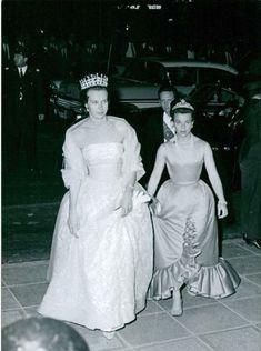Princess Maria Gabriella of Savoy/Italy, wearing her larger pearl tiara
