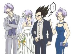 Love the expression on Trunks face