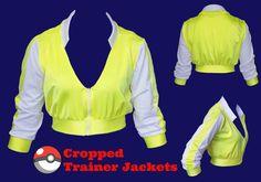Cropped Pokemon Trainer Cosplay Jacket