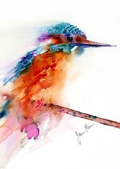 Interview with watercolour artist Jean Haines at Patchings Art Festival 2014 | Watercolour Journey by Ian McKendrick - Jean Haines