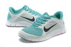 innovative design 4c0c8 5b066 ... hot mens nike free 4.0 v3 lightblue azure shoes d7612 067bc