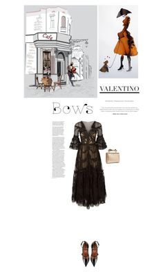 """Put a bow on it"" by jan31 ❤ liked on Polyvore featuring Temperley London and RED Valentino"