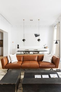 Modern minimalism in a historic shell