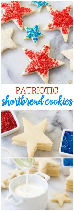 Patriotic Shortbread