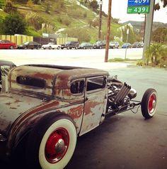 old rat rod trucks Rat Rod Cars, Pedal Cars, Rat Look, Traditional Hot Rod, Us Cars, Big Trucks, Chevy Trucks, Street Rods, Rats