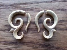 Hey, I found this really awesome Etsy listing at https://www.etsy.com/listing/201300854/fake-gauges-wood-earrings-organic-fake
